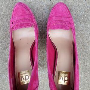 Dolce Vita Shoes - Dolce vita bridgette pink suede leather heels 8.5